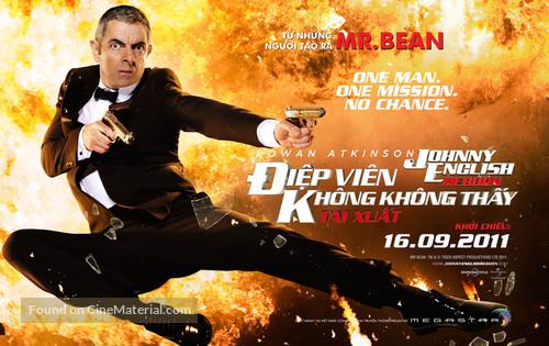 Johnny English Reborn - Vietnamese Movie Poster