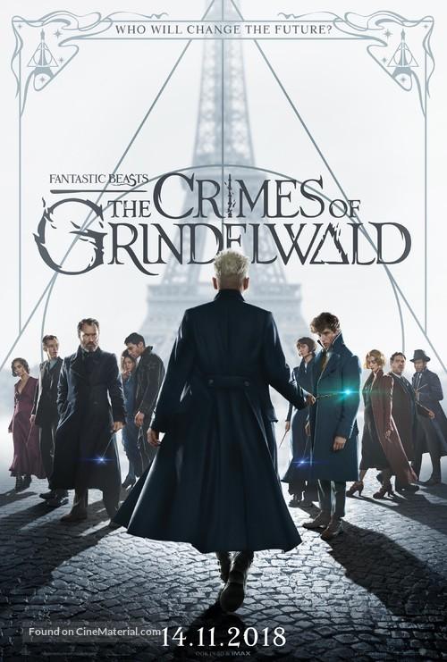 Fantastic Beasts: The Crimes of Grindelwald - Belgian Movie Poster