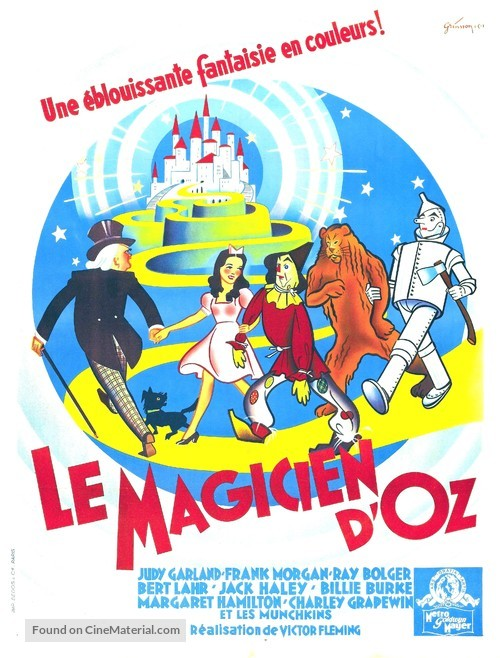 The Wizard of Oz - French Movie Poster