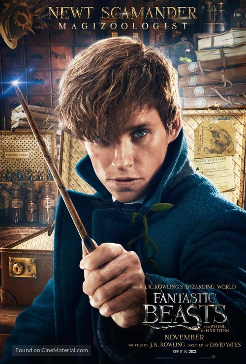 Fantastic Beasts and Where to Find Them - Character movie poster