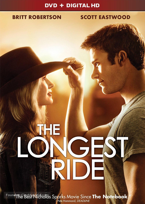 The Longest Ride - DVD movie cover