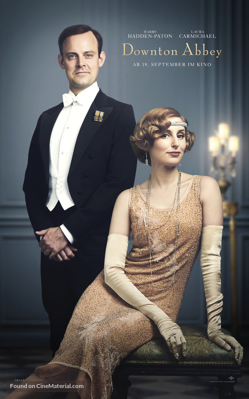 Downton Abbey - German Movie Poster
