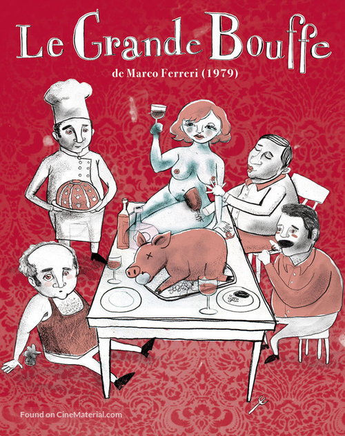 La grande bouffe - French Movie Cover