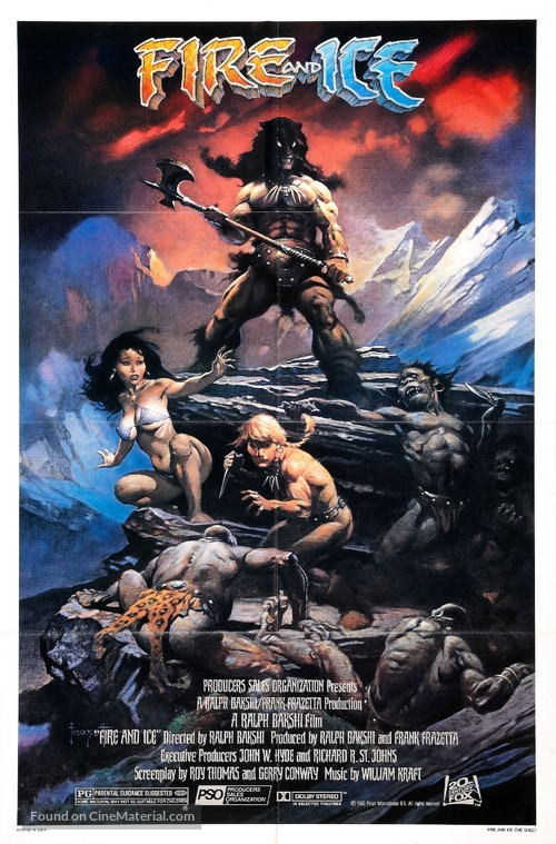 Fire and Ice - Movie Poster