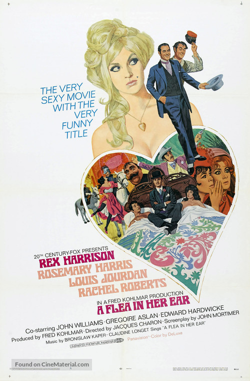 A Flea in Her Ear - Movie Poster