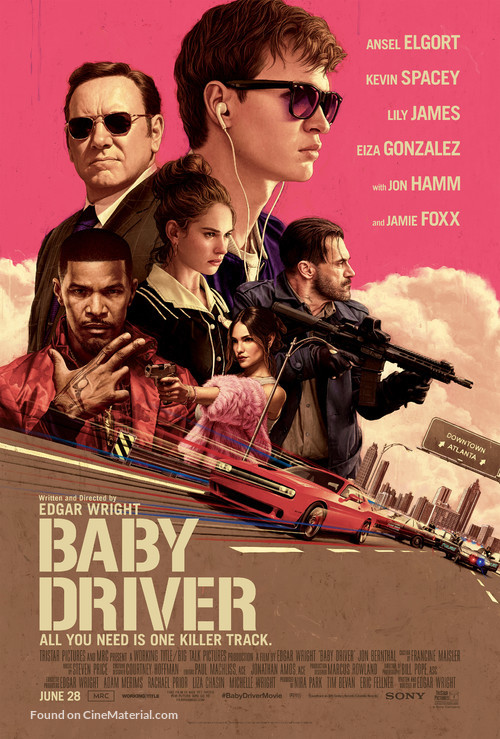 Baby Driver - Theatrical movie poster
