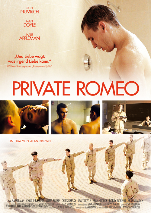 Private Romeo - German DVD cover