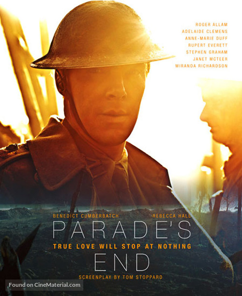 """""""Parade's End"""" - Blu-Ray movie cover"""