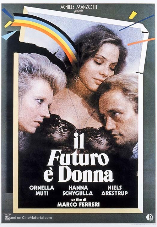 Il futuro è donna - Italian Movie Poster