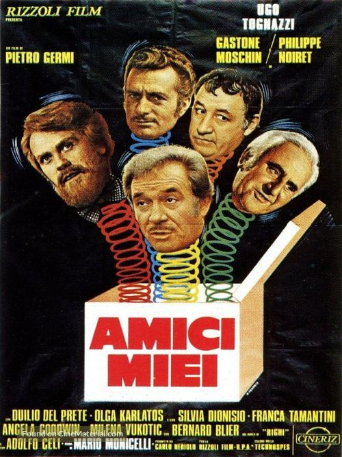 Amici miei - Italian Movie Poster