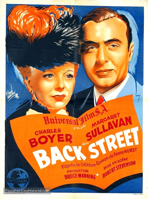 Back Street - French Movie Poster
