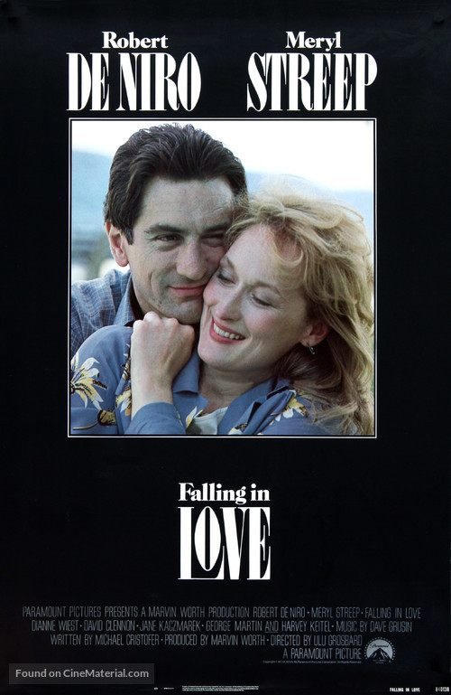 Falling in Love - Movie Poster
