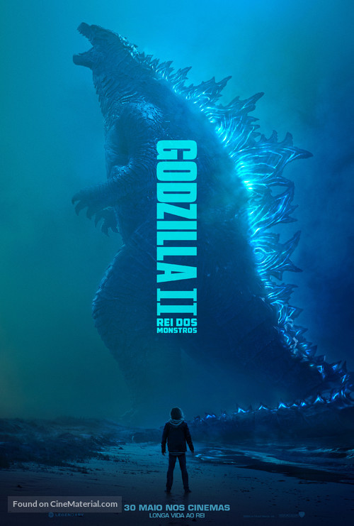 Godzilla: King of the Monsters - Portuguese Movie Poster