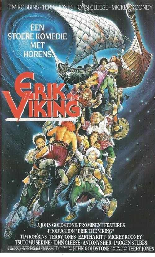Erik the Viking - Dutch Movie Poster
