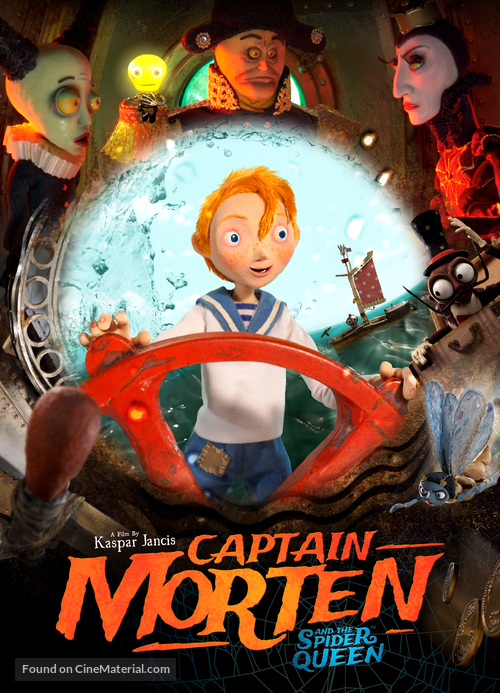 Captain Morten and the Spider Queen - British Video on demand cover