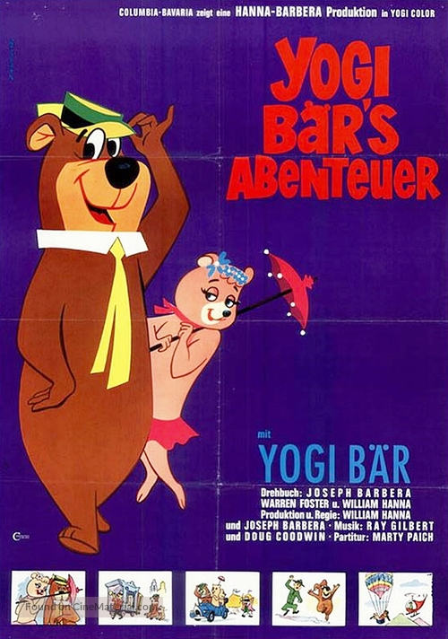 Hey There, It's Yogi Bear - German Movie Poster