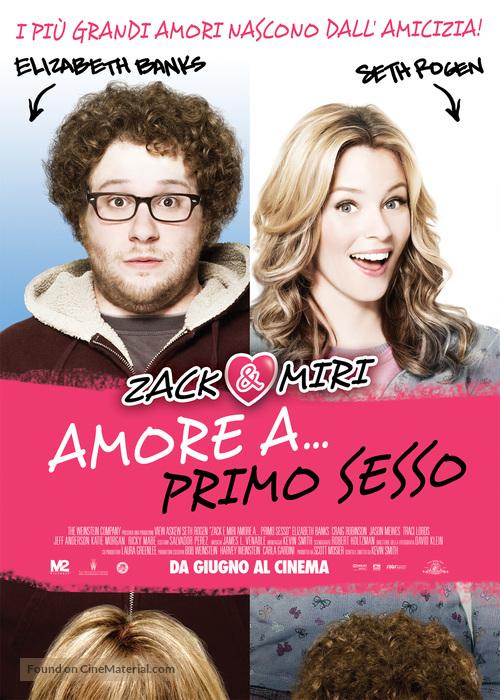 Zack and Miri Make a Porno - Italian Movie Poster