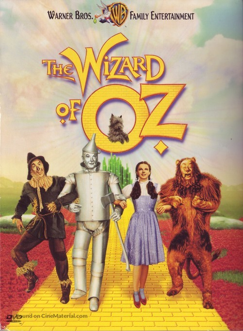 The Wizard of Oz - DVD movie cover