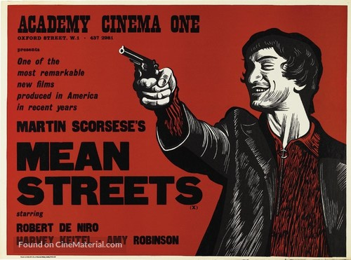 Mean Streets - British Movie Poster