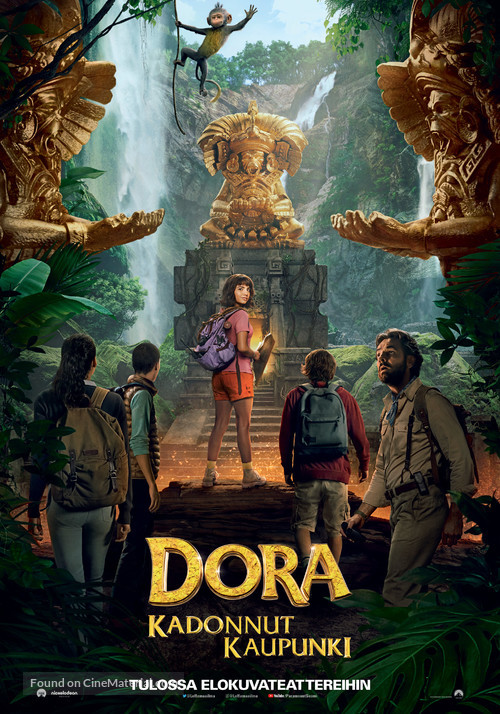 Dora and the Lost City of Gold - Finnish Movie Poster