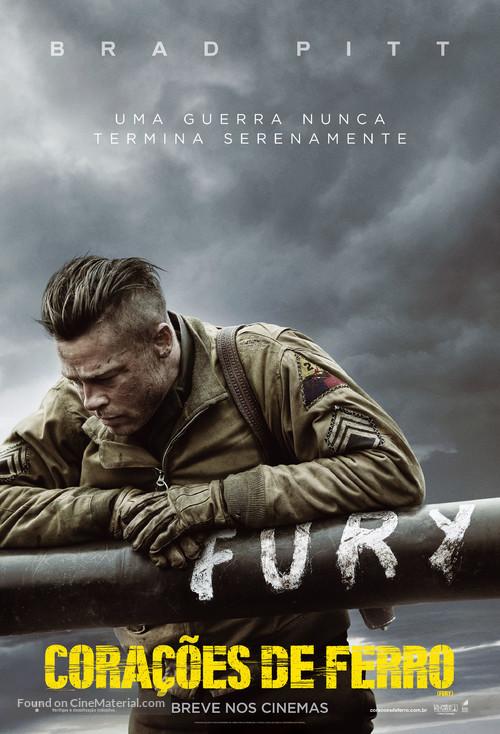 Fury - Brazilian Movie Poster