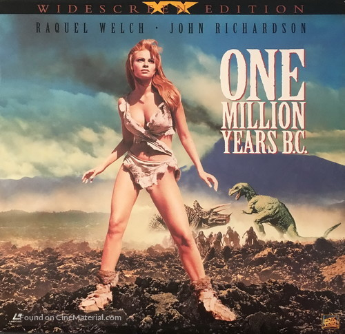 One Million Years B.C. - Movie Cover
