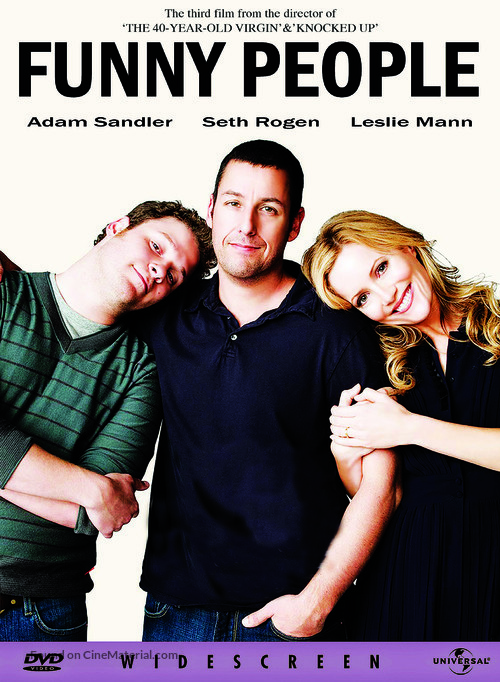 Funny People - DVD movie cover