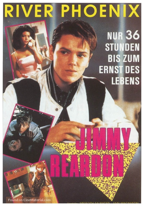A Night in the Life of Jimmy Reardon - German poster