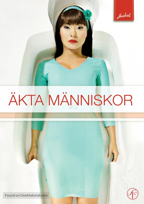 """Äkta människor"" - Swedish DVD movie cover"