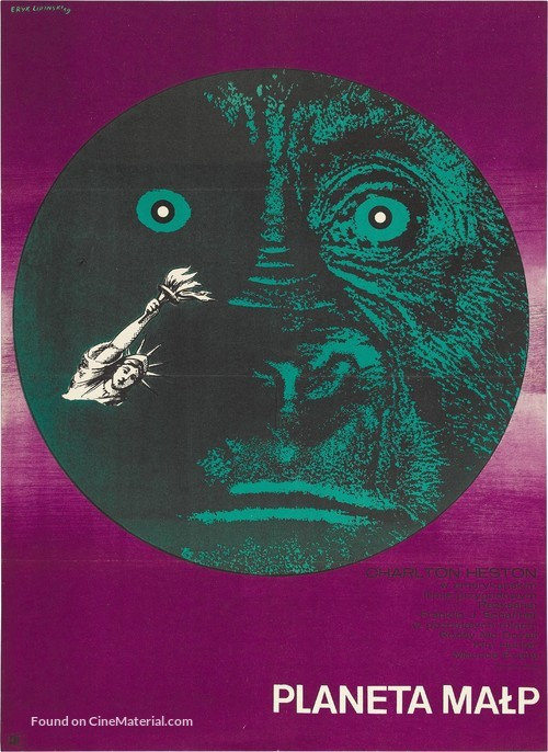 Planet of the Apes - Polish Movie Poster