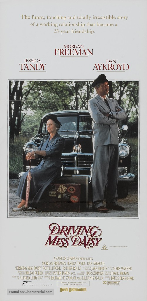 Driving Miss Daisy - Movie Poster