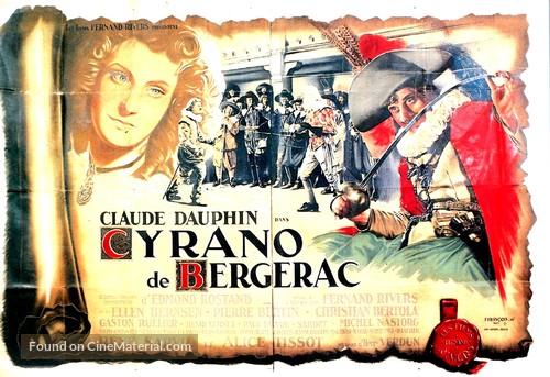 Cyrano de Bergerac - French Movie Poster