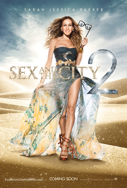 Sex and the City 2 - British Movie Poster