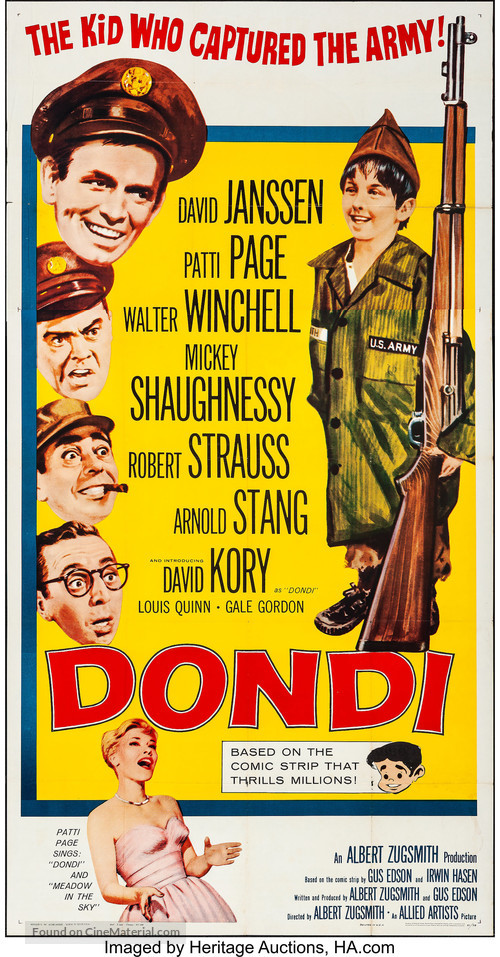 Dondi - Movie Poster