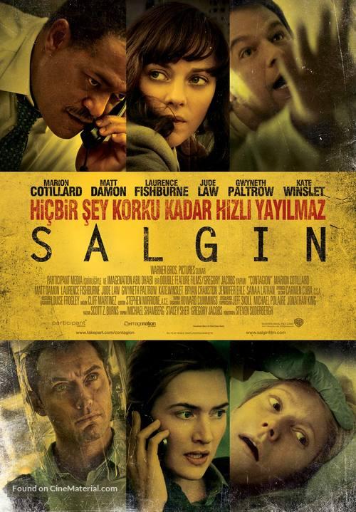 Contagion - Turkish Movie Poster