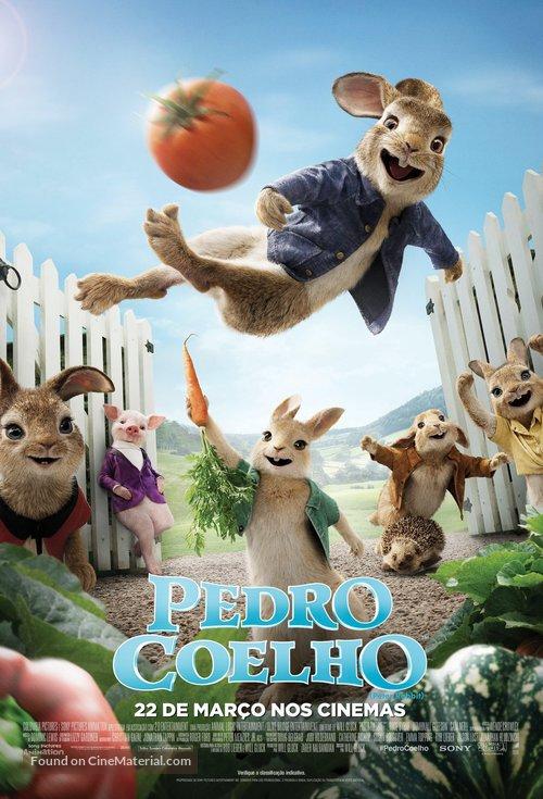 Peter Rabbit - Brazilian Movie Poster