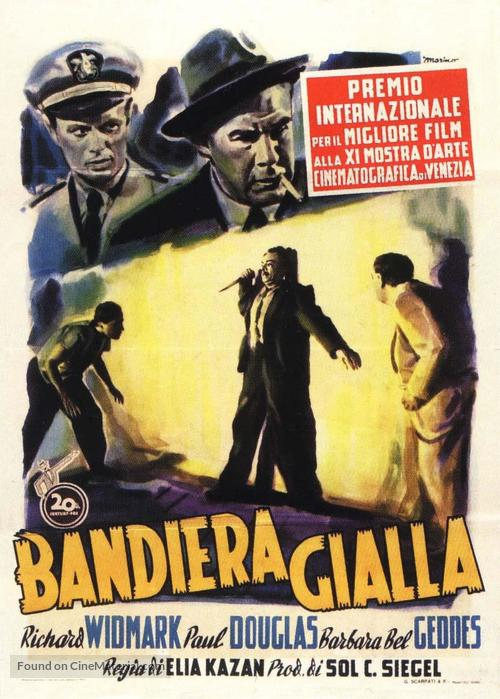Panic in the Streets - Italian Movie Poster