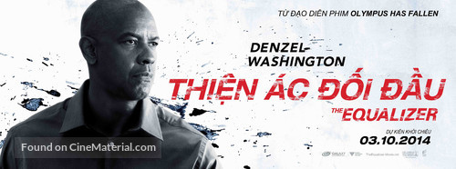 The Equalizer - Vietnamese poster