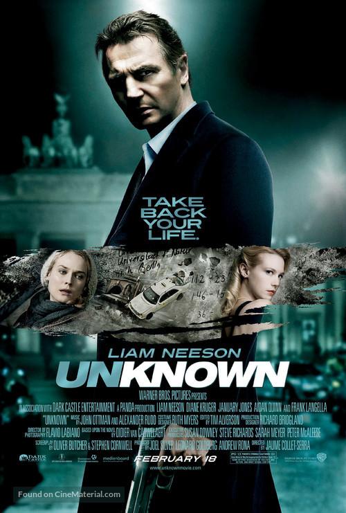 Unknown - Movie Poster