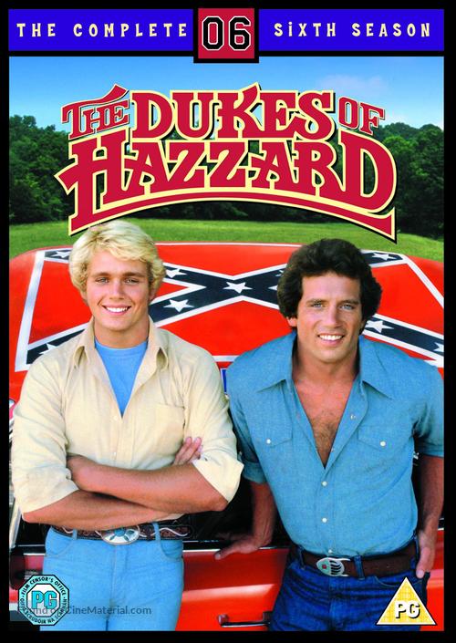 """The Dukes of Hazzard"" - British DVD movie cover"