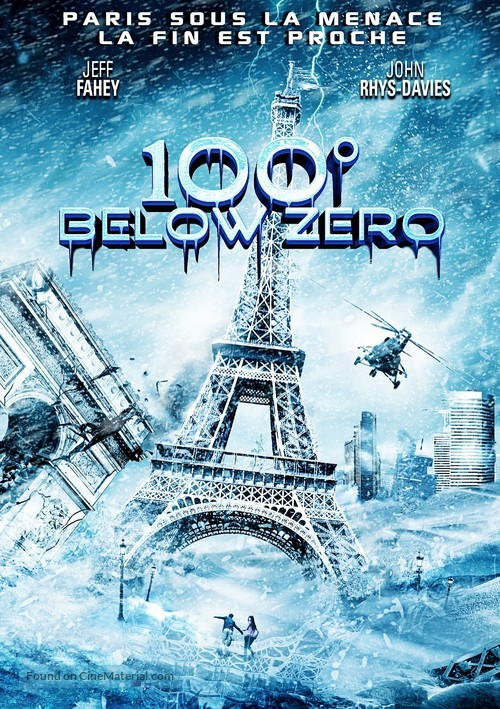 100 Degrees Below Zero - French Movie Poster