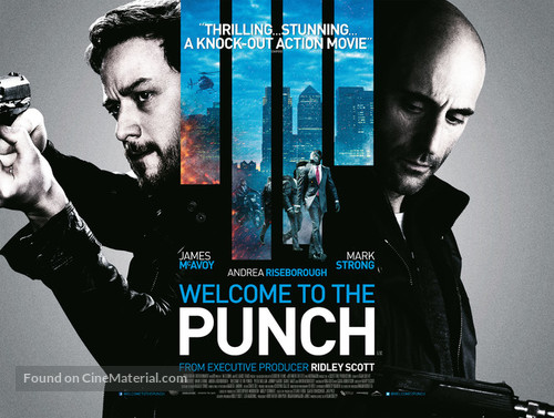 Welcome to the Punch - British Movie Poster