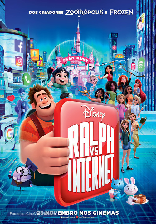 Ralph Breaks the Internet - Portuguese Movie Poster