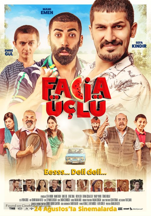 Facia Üçlü - Turkish Movie Poster