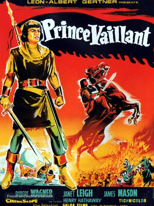 Prince Valiant - French Movie Poster