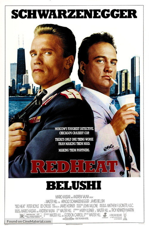 Red Heat - Theatrical movie poster