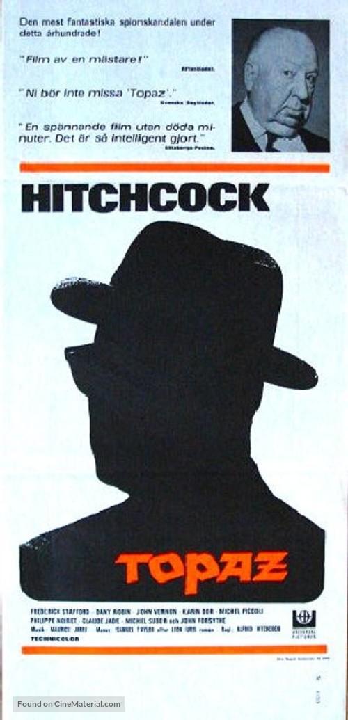 Topaz - Swedish Movie Poster