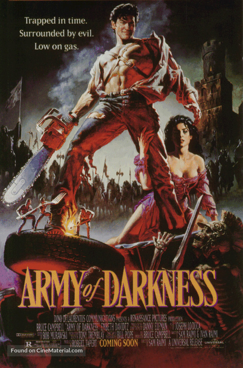Army Of Darkness - Advance movie poster
