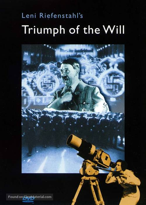 Triumph des Willens - British DVD cover