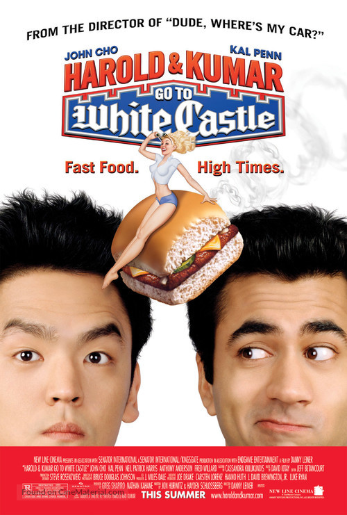 Harold & Kumar Go to White Castle - Movie Poster